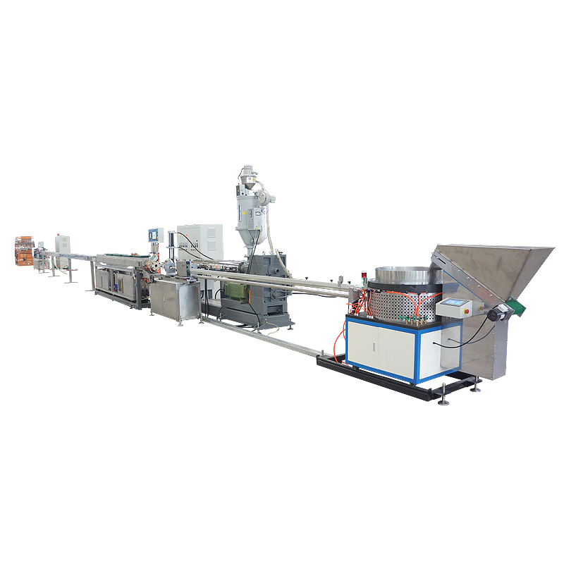 Inline flat dripper irrigation tape making machine